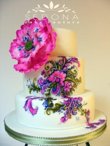 Свадьба - Фантазия В Розовый И Фиолетовый