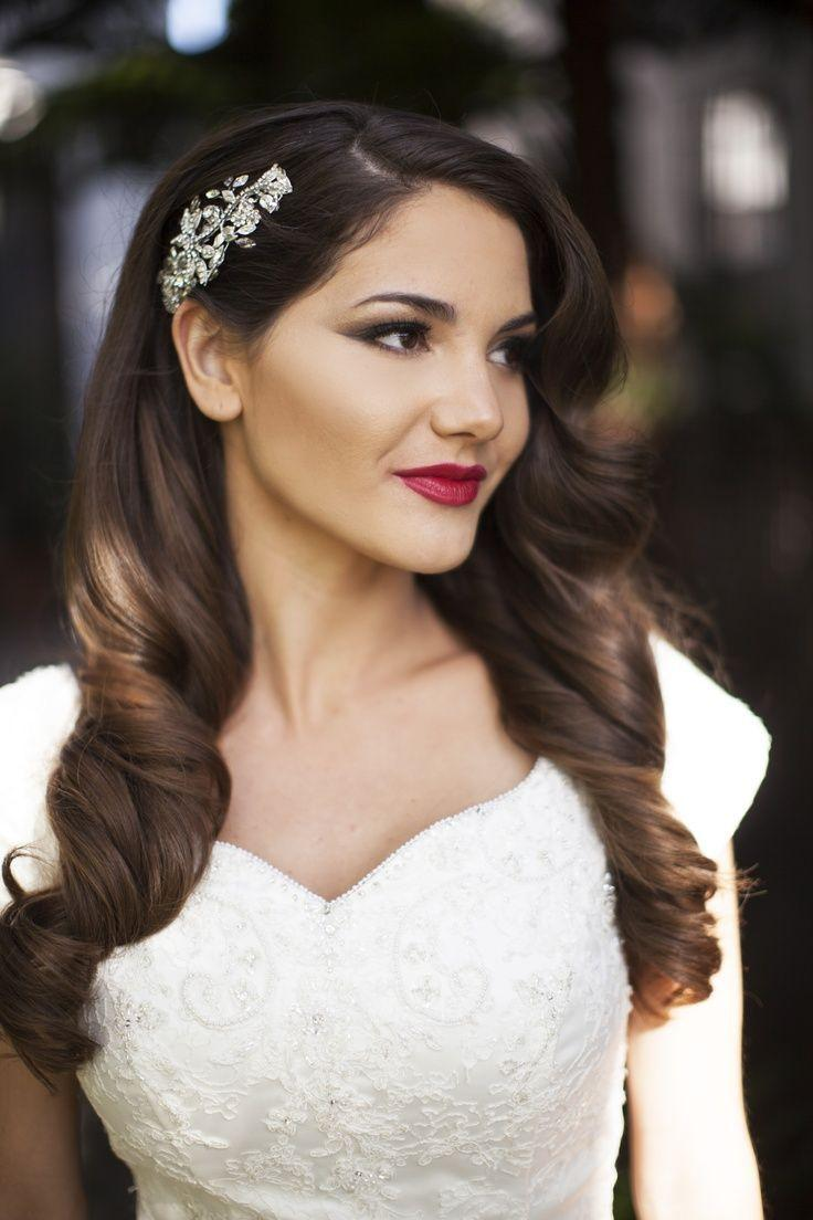Swell Top 10 Gorgeous Bridal Hairstyles For Long Hair 2050069 Weddbook Short Hairstyles Gunalazisus