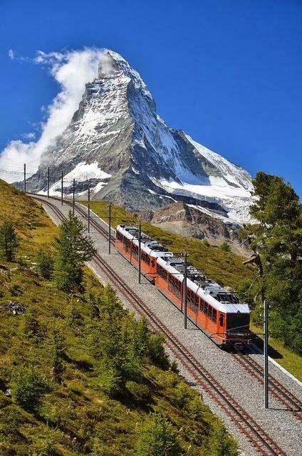 Mariage - Train en Suisse par Swapartment