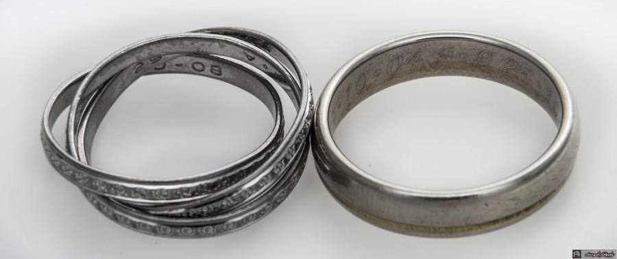 Mariage - Nos anneaux de mariage ;)