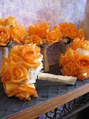 Orange Hochzeits Orange Hochzeits Blumen Blumenstrauss 2050216