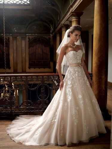 innovative design d1b0e 9cad7 David Tutera Für Mon Cheri - Hochzeitskleider 2014 #2050248 ...