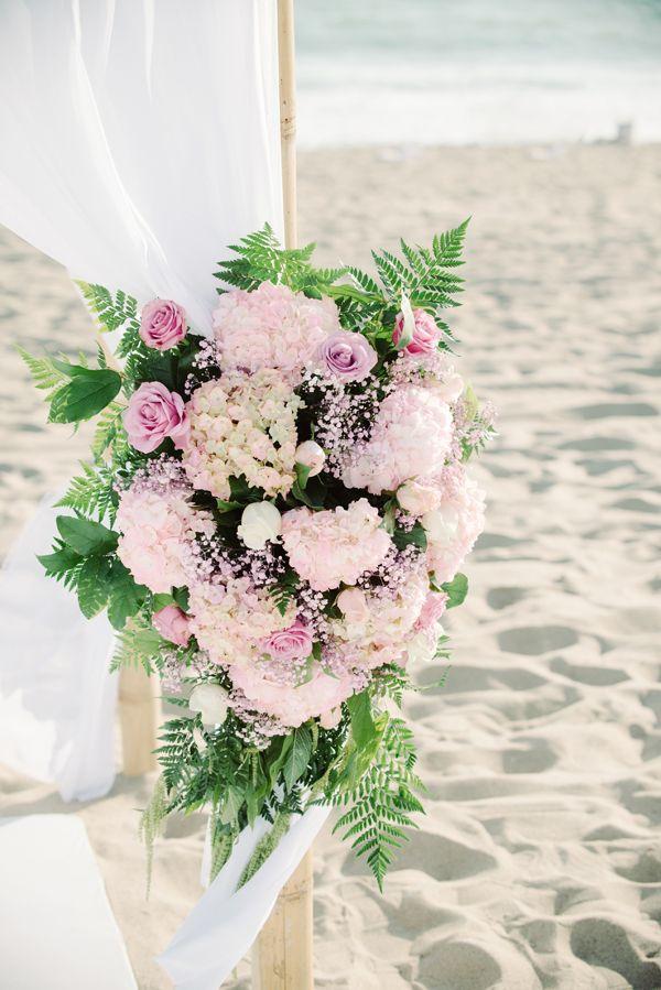 Boda - Boda de playa en rosa y negro