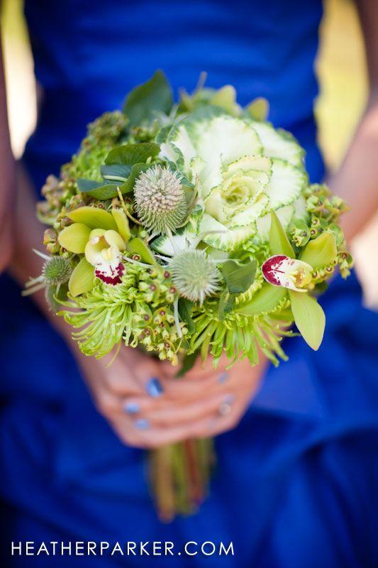Hochzeit - Blaue und grüne Hochzeit!