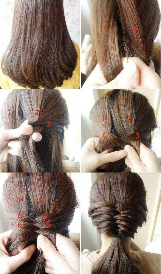 Wedding - Step By Step Hair Bun Tutorial