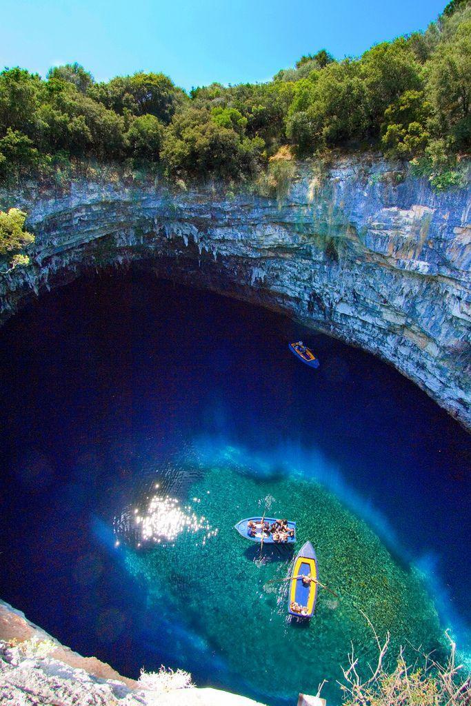 Mariage - Melissani Cave, Grèce