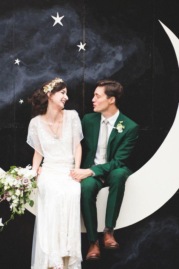 Wedding - Moon & Stars Backdrop