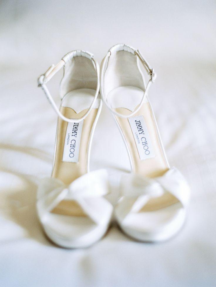 Wedding - White Jimmy Choo Sandals