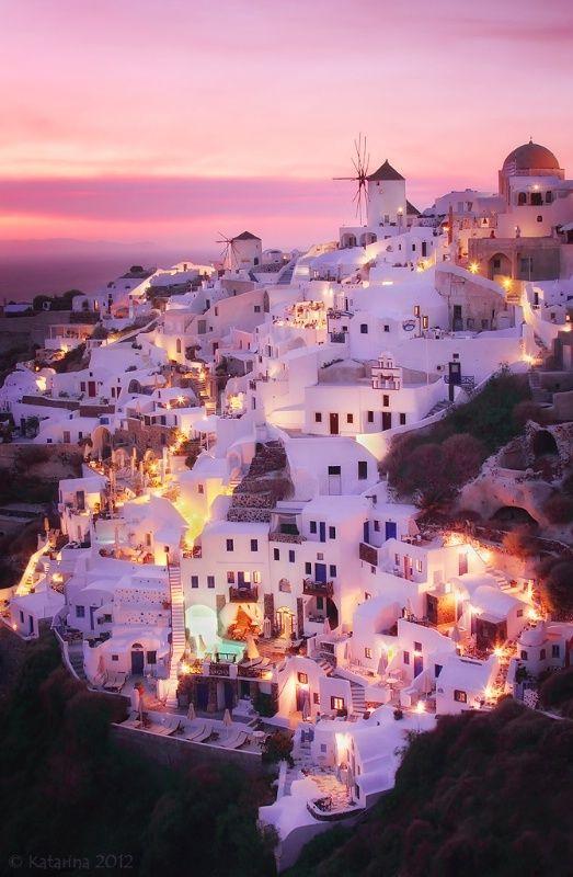 Свадьба - Санторини, Греция