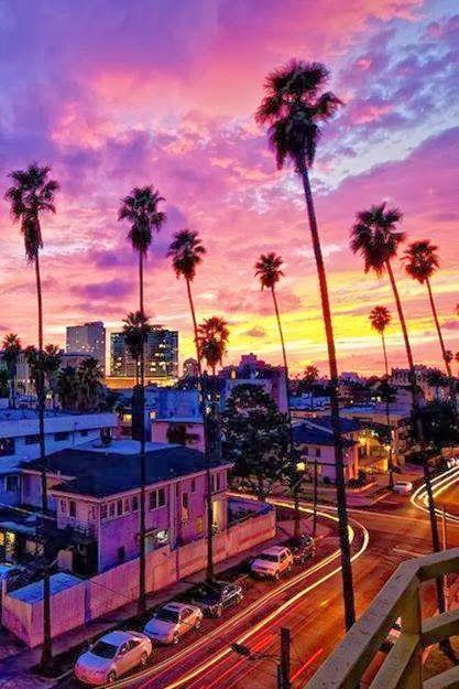 Wedding - A Stunning LA Sunset