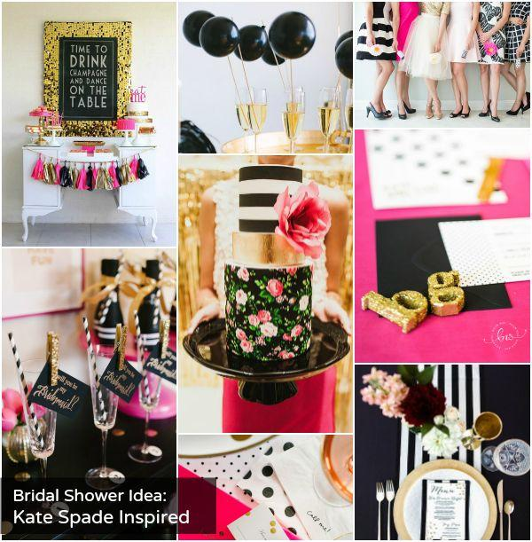 Wedding Nail Designs - Bridal Shower Theme: Kate Spade ...
