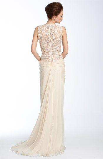 Hochzeit - Tadashi Shoji Lace & Chiffon-Kleid
