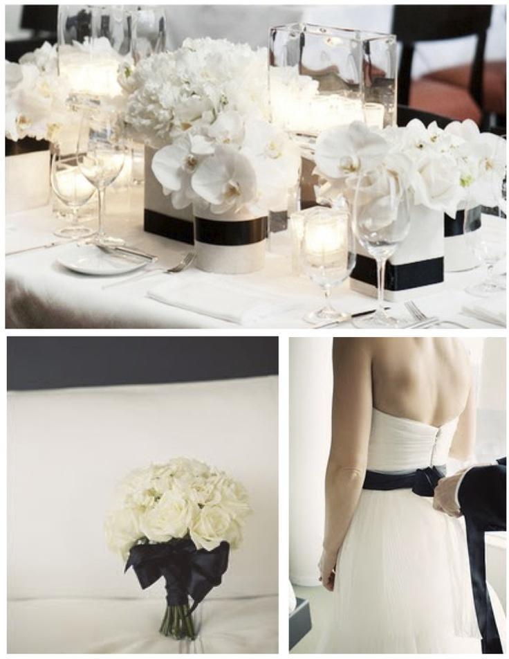 Mariage - Inspiration en noir et blanc
