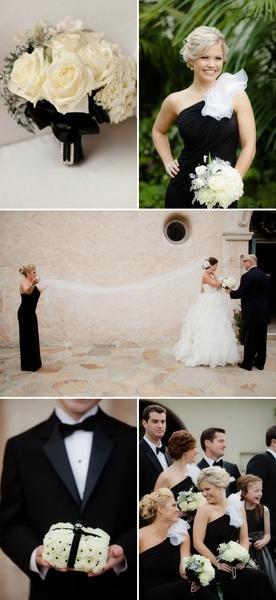 Mariage - En noir et blanc Inspiration de mariage