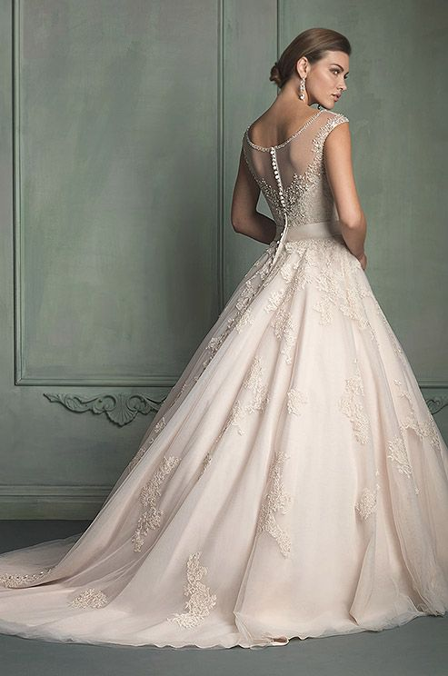 Dress - Allure, 2014 #2051324 - Weddbook