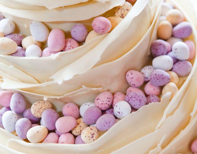 Easter Theme Wedding Cake