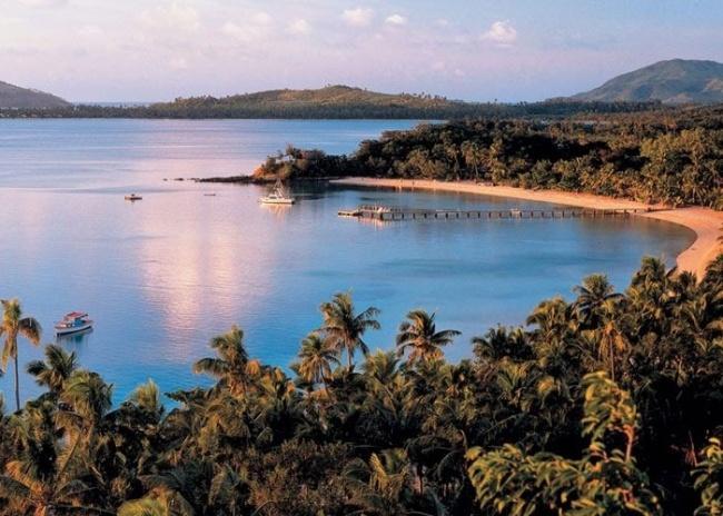 زفاف - جزيرة السلحفاة، فيجي