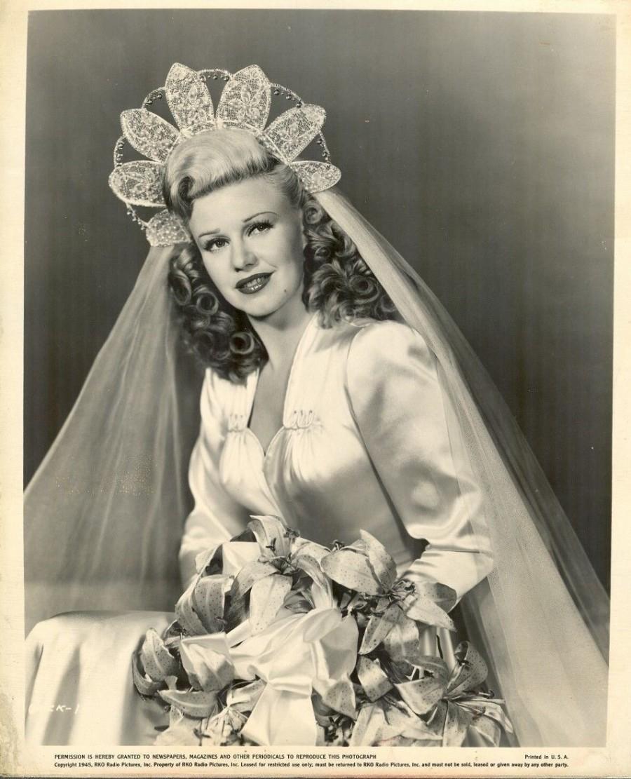 Vintage Wedding Chic Vintage Bride Ginger Rogers
