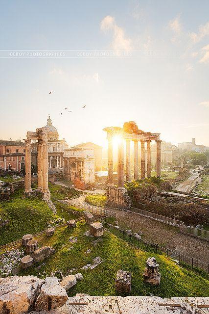 زفاف - المنتدى الروماني، إيطاليا