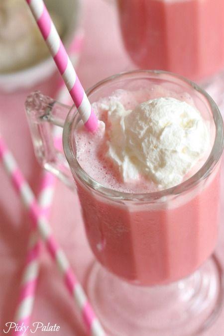 Wedding - Frozen Strawberry Milk Slushy