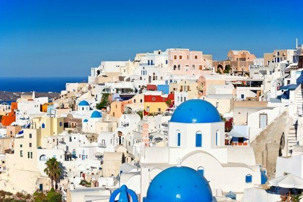 زفاف - سانتوريني اليونان