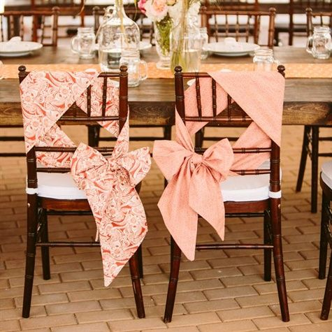 Wedding Chairs Easy And Pretty Chair Ties Weddbook - Wedding chair ties