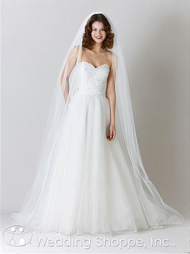 Hochzeit - Kennedy-blaue Hochzeits-Kleid Carolyn