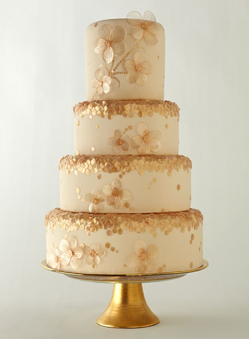 Gold And Ivory Wedding