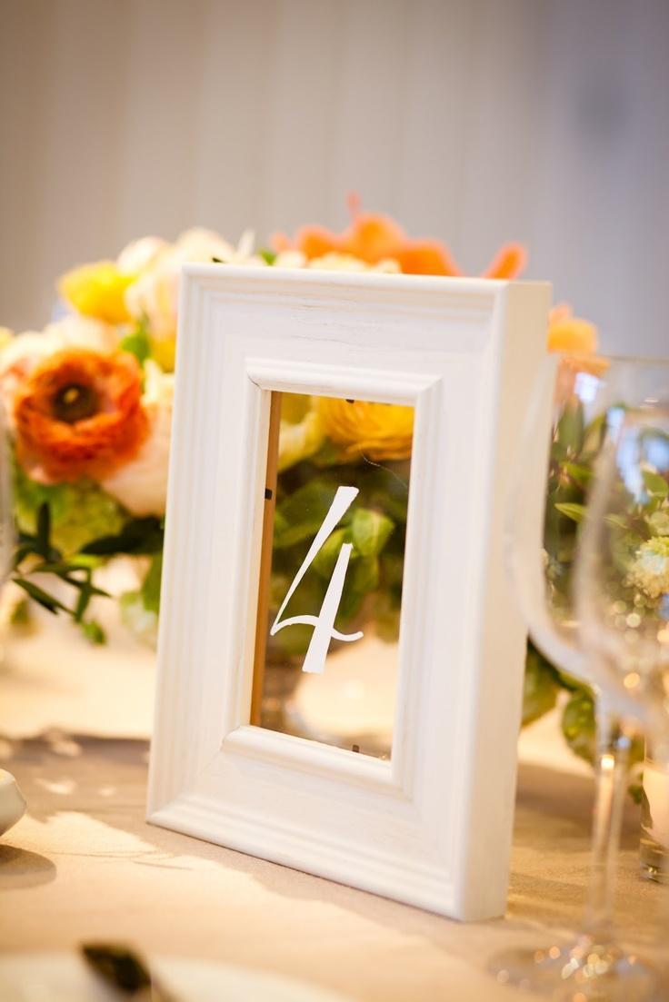 Mariage - Numéro de table