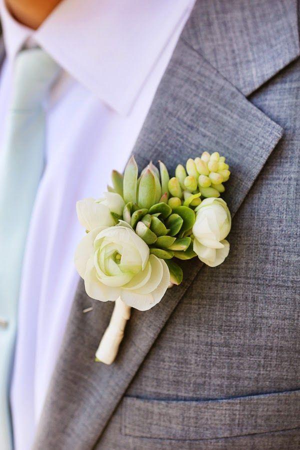 Hochzeit - Hochzeits boutonnières