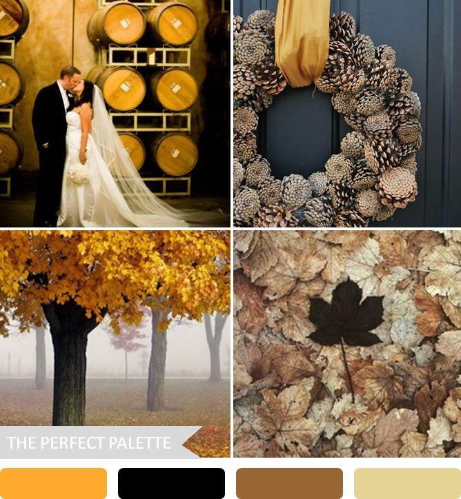 Autumn Wedding 5 Fabulous Fall Color Palettes 2053653 Weddbook