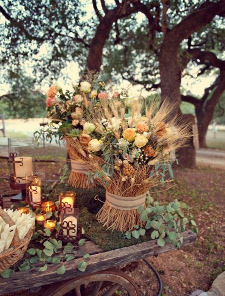country fall wedding ideas - Wedding Decor Ideas