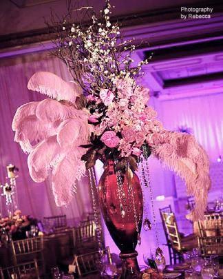 Hochzeit - Ostrich Plumes