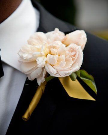 Hochzeit - boutonniere