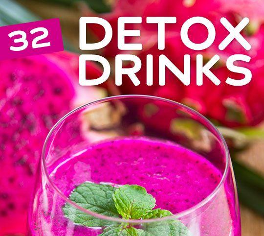 32 Detox Getränke Für Reinigung & Weight Loss #2053900 - Weddbook