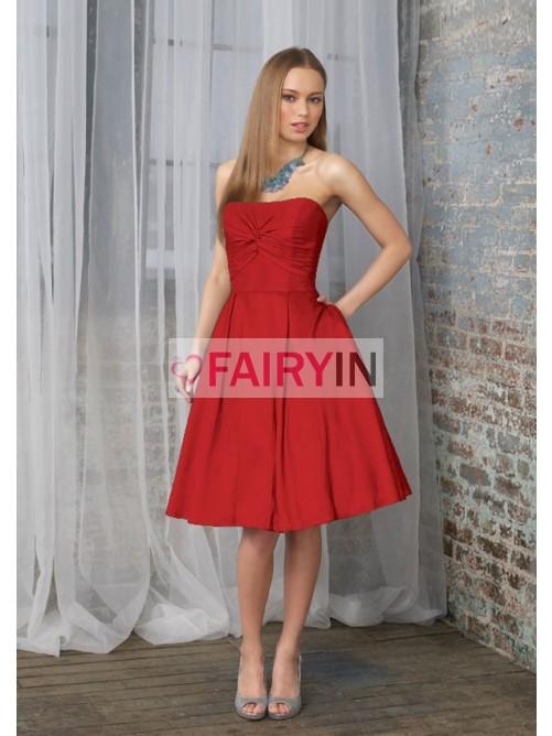 Kleid fur hochzeit weinrot