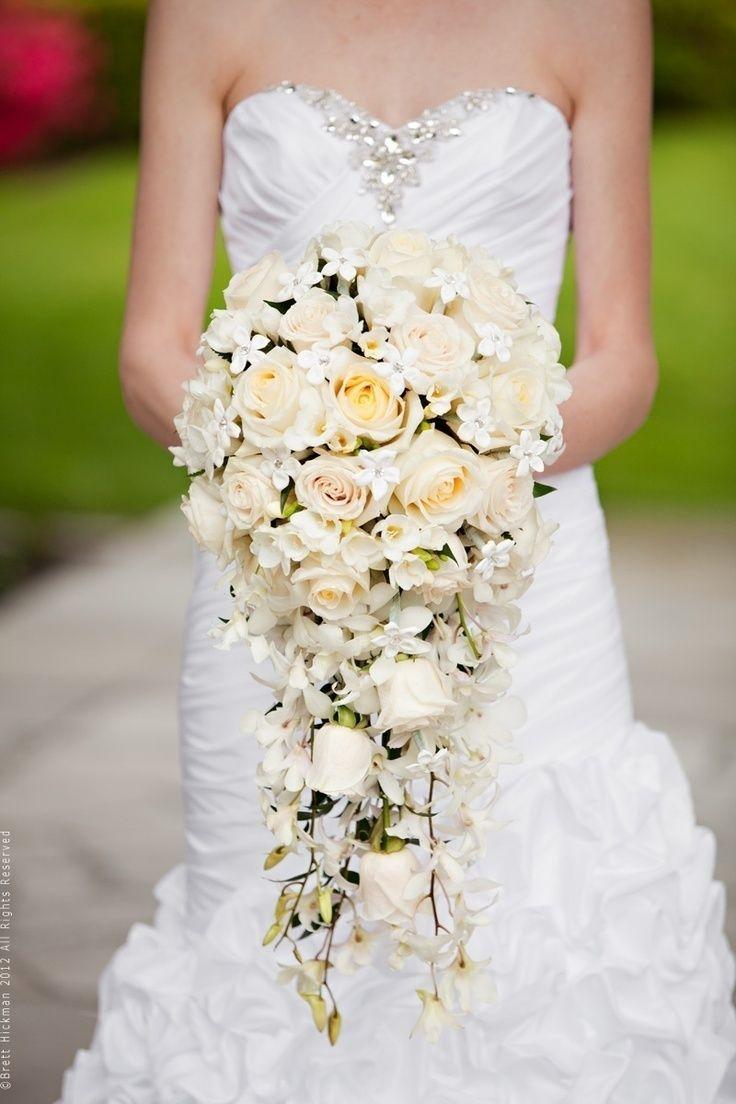 Wedding Cascade Bouquet Ideas : Cascade bouquet related keywords suggestions