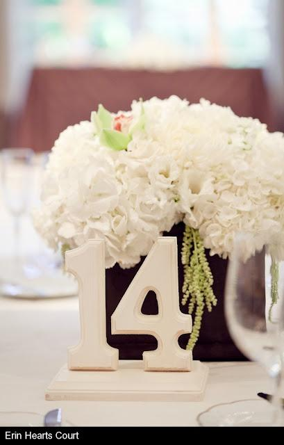 Wedding - Love The Table Number!