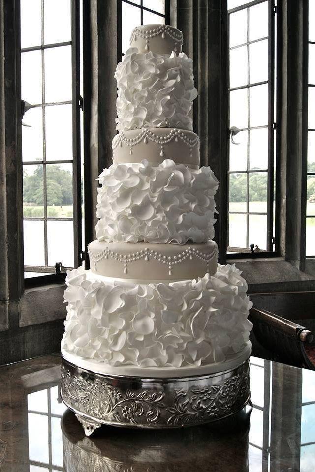 Boda - Pastel de bodas blanco