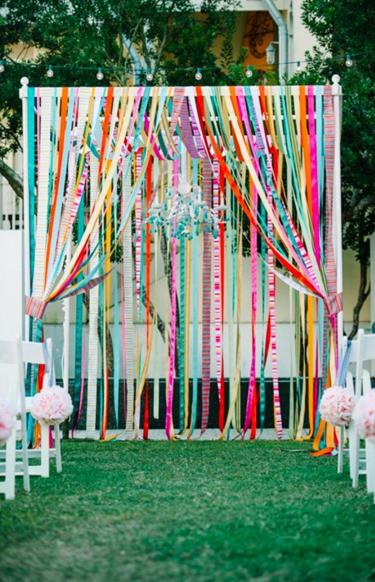 Wedding - Colorful & Eclectic Rosemary Beach Wedding