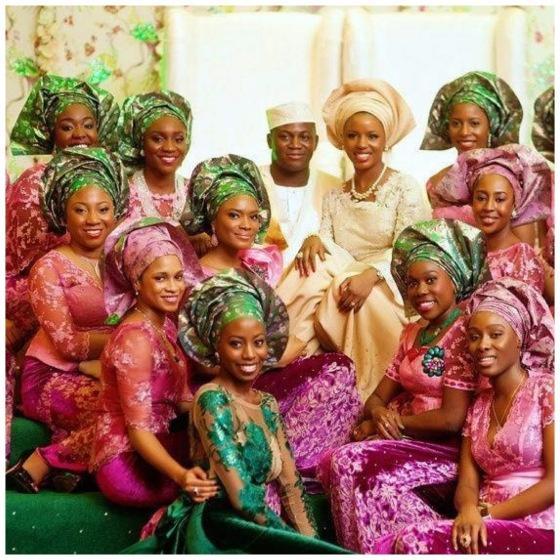 Свадьба - Западной Африки, Традиционный Свадебный Наряд