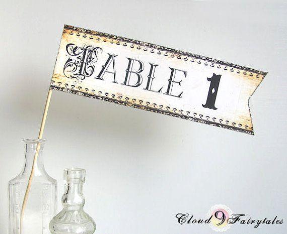 Mariage - Fantaisie Nombres de Tableau de réception de mariage de scintillement d'or de mariage Swarovski Strass Vintage