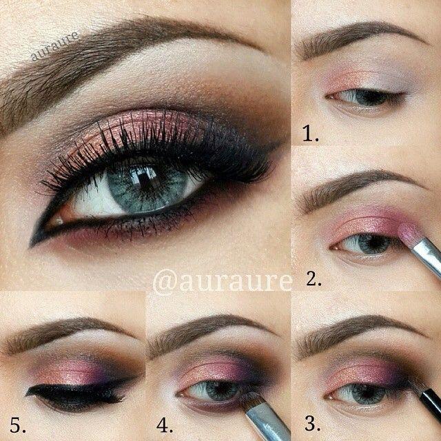 Outdoor Wedding Makeup Tutorial : Belle Maquillage Des Yeux Cranberry Pictorial #2054742 ...