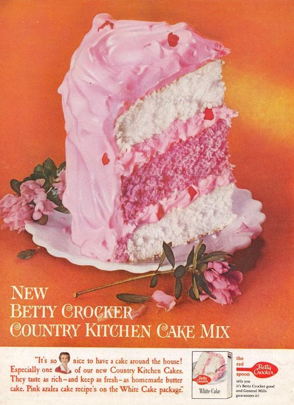 Wedding - Lovely Retro Cake Ad