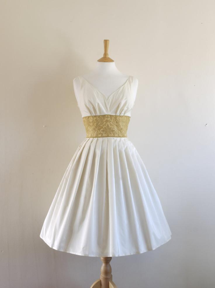 Dig For Victory Wedding Dress Etsy