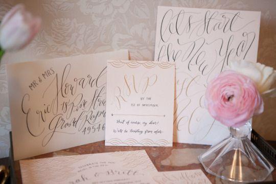 Hochzeit - Silvester-Hochzeit Inspiration