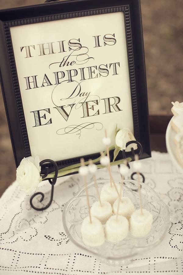Wedding - Inexpensive Statement