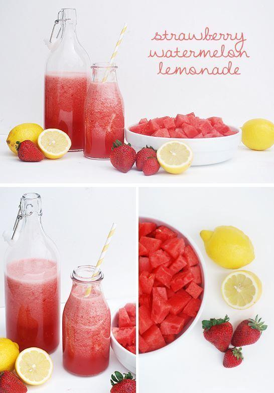 Hochzeit - Strawberry Lemonade Wassermelone