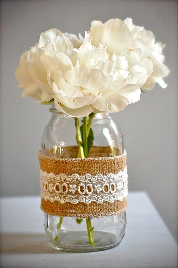 Mason Jar Weddings Vintage Jars 2055178 Weddbook