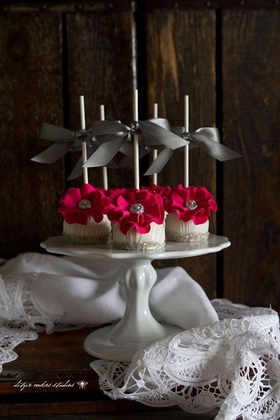 Bridesmaid Cake Pops